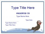 swimming-certificate-template