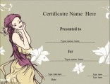 character-certificate-template
