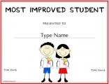 most-improved-student-award