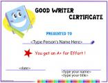 award-for-good-writing