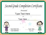 certificate-for-second-grade-completion