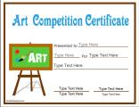 art-competition-certificate