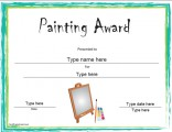 painting-award-template
