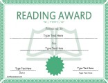 reading-award-certificate
