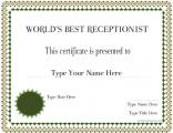 best-receptionist-in-the-world