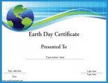 earth-day-certificate-template