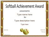 softball-certificate