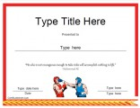 boxing-award-template